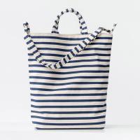 [바쿠백] 덕백 캔버스 토드백 Sailor Stripe
