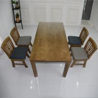 잔느 4인 원목 식탁 세트(의자형)