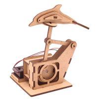 DIY Miniature 모터마타 헤엄치는돌고래 배터리미포함