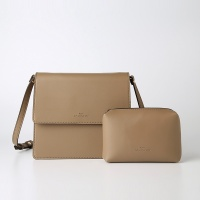 Trapezoid Cross Bag (Ashbrown) - P007C_AB