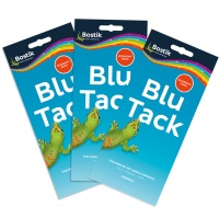 재사용 점토점착제 블루택 오리지널 90G 3개 Blu-tack