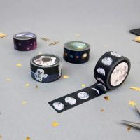 [썩유케이] 우주 디자인 종이 마스킹 테이프