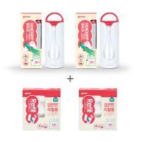 [가마스] 비닐롤백 세트(본품2+리필2) - 손잡이백