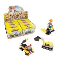 3000 미니블록 장난감 피규어 (건설장비 8종) 세트
