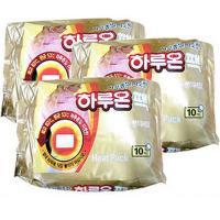 국내생산 하루종일 따뜻한 하루온 핫팩 3통(30팩)