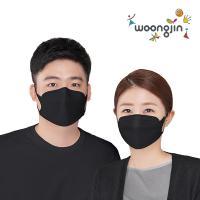 KF94 웅진 황사 미세먼지 검정 마스크 30매