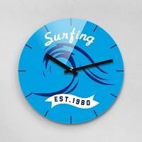 Reflex SURF 무소음벽시계 (대) SUM280-SURF