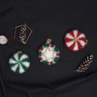 크리스마스 수세미 선물세트 - 코바늘 키트
