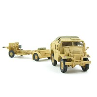 1/72 British Quad Tractor with 25 pdr. El Alamein, 1942 (HM382831SA)