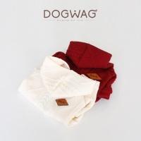 [도그웨그 DOGWAG] 강아지&고양이 니트짜임 후드집업