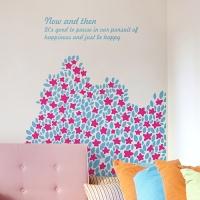 들꽃언덕 (작은꽃) - 완제품B타입 그래픽스티커