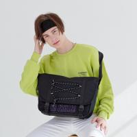 [로디스] 노프릴 메신저백 블랙바이올렛