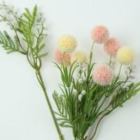 폼폼플라워 장식 (카네이션/부케 꽃재료/소품)