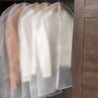 투명 비닐 방수 의류커버 옷커버(소형)