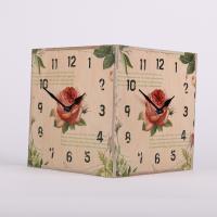[하이모리] 타임데코 로즈 코너시계  양면시계/벽시계