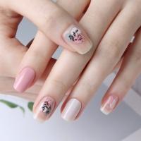 [글로시블라썸] 젤네일스티커 드로잉 핑크
