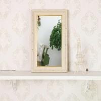 고급 소품 미니거울-J2003AW(거울 20x40cm)