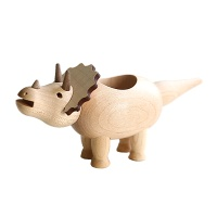 [WOODERFUL LIFE] TRICERATOPS WOODEN CONTAINER
