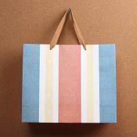 (와인앤쿡)심플 라인 쇼핑백1개(디자인랜덤)(31cm)