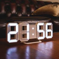 오리엔트 OT1586 화이트 3D화이트LED 디지털시계
