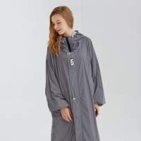 OVERSIZED RAIN COAT [GRAY]