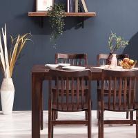 [채우리] 보그 4인 원목 식탁세트(의자)