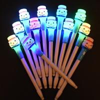 LED점등 크리스마스 눈사람볼펜 [12개한팩]