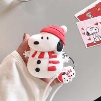 에어팟케이스 크리스마스 캐릭터 실리콘 416 눈사람
