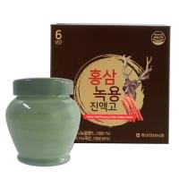 [개성인삼농협] 6년근 홍삼 녹용 진액고 1000g(단지)