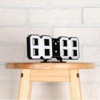 코비 무소음 3D LED 탁상/벽 알람시계 CL50