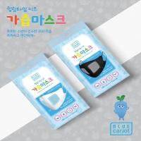 블루캐롯 힐링타임 키즈 가습마스크(어린이용) 1매입