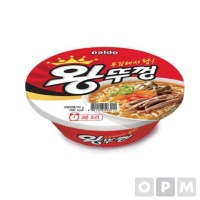 팔도 왕뚜껑 18개/BOX
