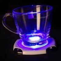 LED 발광 컵받침 (화이트)