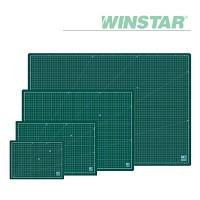 윈스타 PVC 녹색 데스크 커팅 매트 A4 [00032782]