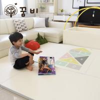 [꿈비 짱짱매트] 변신 범퍼침대매트-사방치기(5단폴더2개) / 놀이방 아기유아매트
