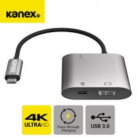 KANEX 맥북 노트북 USB C타입 케이블 to HDMI 컨버터