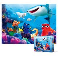100피스 직소퍼즐 - 도리를찾아서 행복의바다(큰조각)