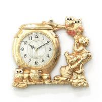 (kspz349)저소음 항아리시계 금 (벽/탁상)