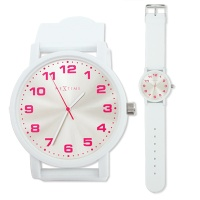 NEXTIME 6011 Dash White Watch
