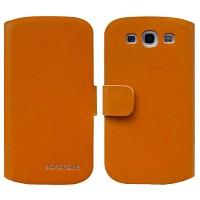 갤럭시S3 BOROFONE Classic Leather브라운(카드수납형케이스,3G/LTE)