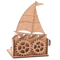 DIY Miniature모터마타 돛단배 배터리미포함CH1530681