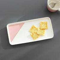 [쓰임] 소울 핑크 직사각접시