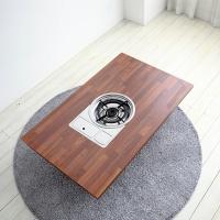 멀바우 4인용 가정용 불판테이블