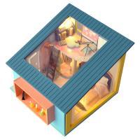 DIY 미니어처하우스 캐노피 3층