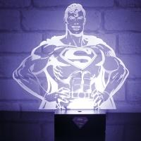 [팔라돈] 슈퍼맨 히어로 무드등 PP2997DC