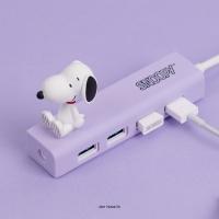 피너츠 스누피 캐릭터 4PORT USB 3.0 허브