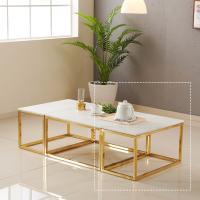 [보루네오 하우스] 아르메 리얼스톤 대리석 소파 테이블(소)