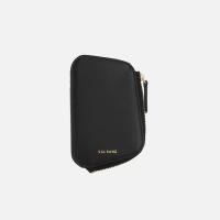 Reims Pebble Card Wallet black 페블 카드 월렛 블랙
