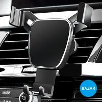 BAZAR 차량용 중력유도방식 알루미늄 스마트폰 거치대