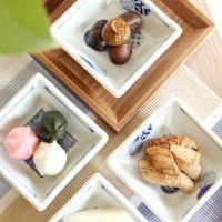 일본식기 코바코 사각종지